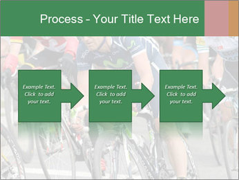 Cyclist Competition PowerPoint Template - Slide 88