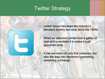 Cyclist Competition PowerPoint Template - Slide 9