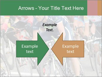 Cyclist Competition PowerPoint Template - Slide 90