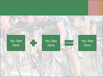 Cyclist Competition PowerPoint Template - Slide 95