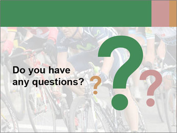 Cyclist Competition PowerPoint Template - Slide 96