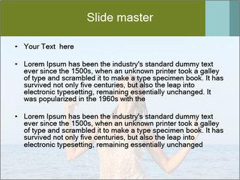 Sexy Greek Woman PowerPoint Template - Slide 2