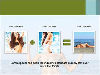 Sexy Greek Woman PowerPoint Template - Slide 22