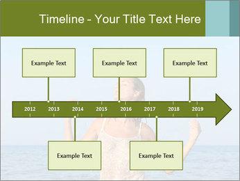 Sexy Greek Woman PowerPoint Template - Slide 28