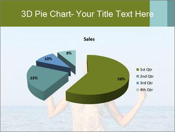 Sexy Greek Woman PowerPoint Template - Slide 35