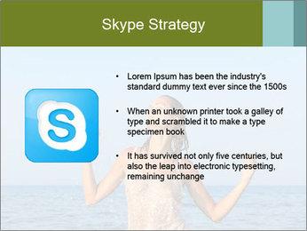 Sexy Greek Woman PowerPoint Template - Slide 8