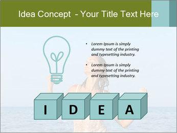 Sexy Greek Woman PowerPoint Template - Slide 80