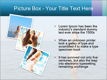 Greek Woman PowerPoint Templates - Slide 17