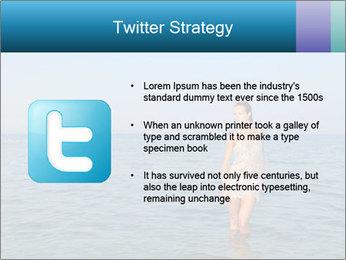 Greek Woman PowerPoint Templates - Slide 9