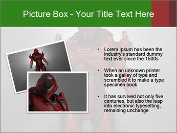 Scary Red Robot PowerPoint Templates - Slide 20