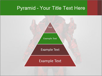 Scary Red Robot PowerPoint Templates - Slide 30