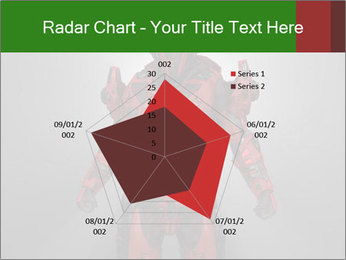 Scary Red Robot PowerPoint Templates - Slide 51