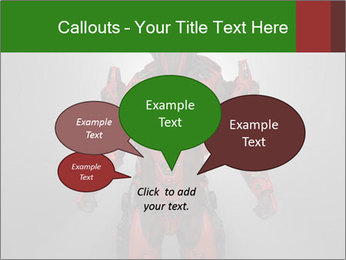 Scary Red Robot PowerPoint Templates - Slide 73