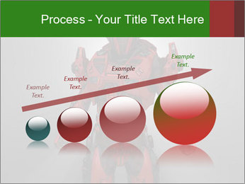 Scary Red Robot PowerPoint Templates - Slide 87