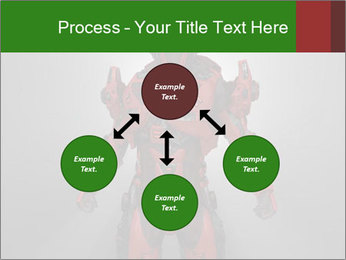 Scary Red Robot PowerPoint Templates - Slide 91