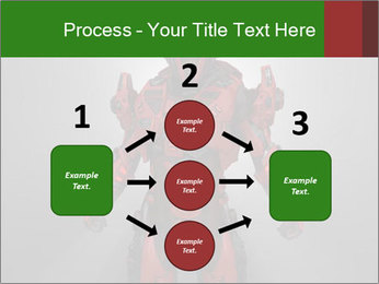 Scary Red Robot PowerPoint Templates - Slide 92