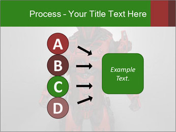 Scary Red Robot PowerPoint Templates - Slide 94