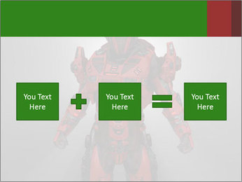 Scary Red Robot PowerPoint Templates - Slide 95
