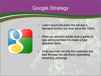 Green Robot PowerPoint Template - Slide 10