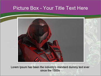 Green Robot PowerPoint Template - Slide 16