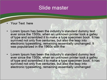 Green Robot PowerPoint Template - Slide 2