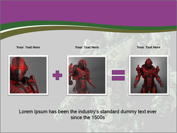 Green Robot PowerPoint Template - Slide 22