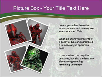 Green Robot PowerPoint Template - Slide 23