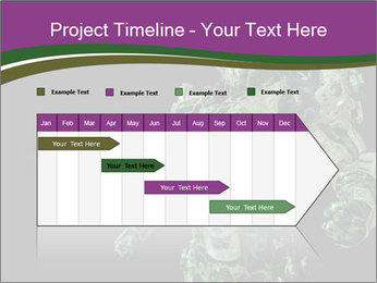 Green Robot PowerPoint Template - Slide 25