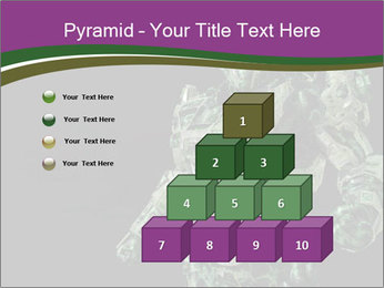 Green Robot PowerPoint Template - Slide 31