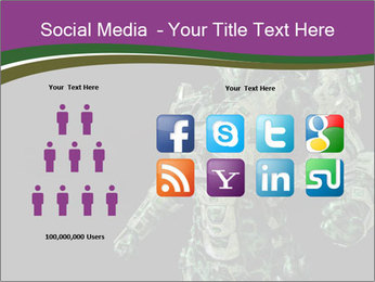 Green Robot PowerPoint Template - Slide 5