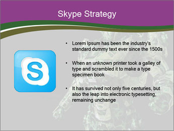 Green Robot PowerPoint Template - Slide 8