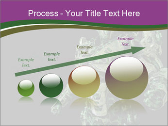 Green Robot PowerPoint Template - Slide 87