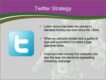 Green Robot PowerPoint Template - Slide 9