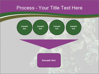 Green Robot PowerPoint Template - Slide 93