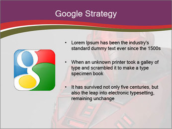Futuristic Red Robot PowerPoint Templates - Slide 10