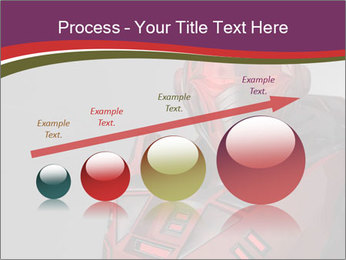 Futuristic Red Robot PowerPoint Templates - Slide 87