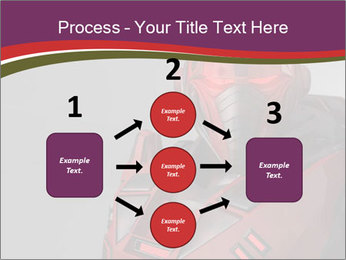 Futuristic Red Robot PowerPoint Templates - Slide 92