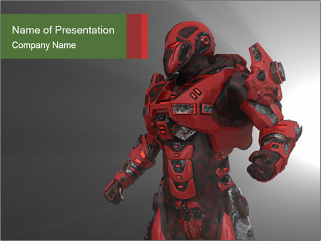 Robot Industry PowerPoint Templates