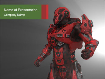 Robot Industry PowerPoint Templates - Slide 1