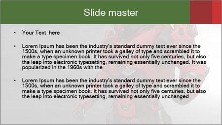 Robot Industry PowerPoint Template - Slide 2
