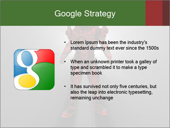 Robot Spreading Bright Light PowerPoint Templates - Slide 10