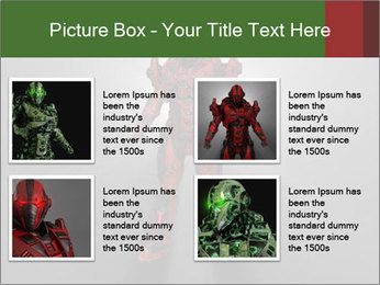 Robot Spreading Bright Light PowerPoint Templates - Slide 14