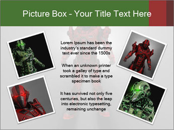 Robot Spreading Bright Light PowerPoint Templates - Slide 24