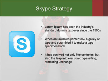 Robot Spreading Bright Light PowerPoint Templates - Slide 8