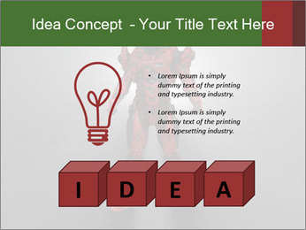 Robot Spreading Bright Light PowerPoint Templates - Slide 80
