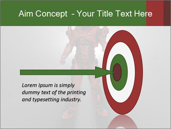 Robot Spreading Bright Light PowerPoint Templates - Slide 83