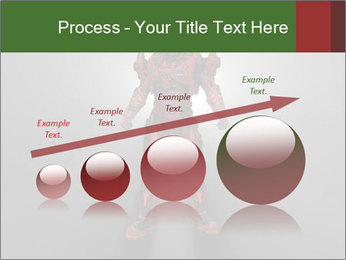 Robot Spreading Bright Light PowerPoint Templates - Slide 87