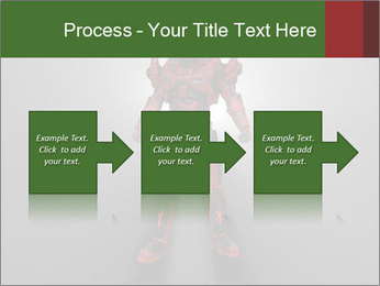 Robot Spreading Bright Light PowerPoint Templates - Slide 88