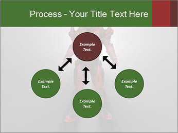 Robot Spreading Bright Light PowerPoint Templates - Slide 91