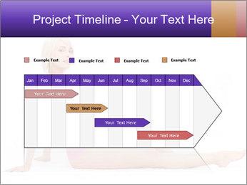 Sitting Woman in Pink Bikini PowerPoint Templates - Slide 25